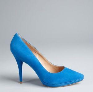 Pour La Victoire Daina blue pump